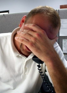 Image of Stressed Employee